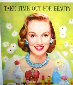 Retro Avon Cosmetics  Magazine Advertisment by mamiezvintage