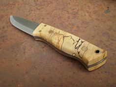 Enzo Trapper spalted