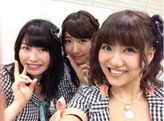 Yokoyama Yui & Kashiwagi Yuki, Miyazawa Sae, #AKB48 #SKE48 #SNH48