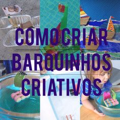 Criando barquinhos para crianças. Arte, artesanato, atividade criativa