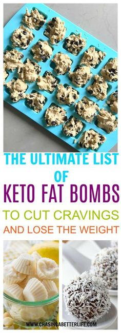 Diet Snacks These 56 Keto Diet FAT BOMBS are THE BEST! I'm so happy I found these GREAT Ketogenic diet fat bombs! Now I have some great ways to make some keto recipes and eat healthy recipes! Keto Desserts, Keto Snacks, Keto Sweet Snacks, Unique Desserts, Ketogenic Recipes, Low Carb Recipes, Diet Recipes, Diet Tips, Fat Head Recipes