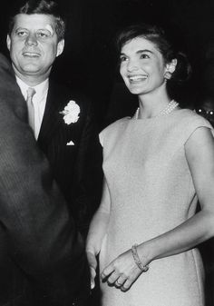 "President & Mrs.Kennedy (as she preferred to be called, never ""First Lady"")"