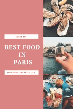 Want to know where to eat in Paris, a city known for amazing food? Check out this guide to the best food in Paris for can't-miss meals in the French capital Paris Travel, France Travel, France Europe, Paris France, Europe Travel Guide, Travel Abroad, Travel Destinations, Disneyland Paris, Best Restaurants In Paris