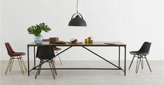 Lomond Extra Large Dining Table, Mango Wood | MADE.com