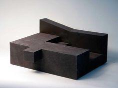 Enric Mestre - Architecture for the Look Model Architecture, Concept Architecture, Sculpture Metal, Abstract Sculpture, Cubes, Arch Model, Concrete Art, Land Art, Installation Art