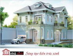 Mâu thiết kế biệt thự đẹp | Nhà anh Giang - Đà lạt - BT-NNX0616