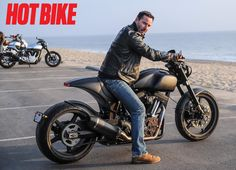 Hot Bike. Hot Man!