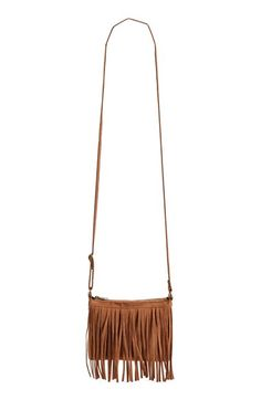 BP. Fringe Faux Suede Crossbody Bag available at #Nordstrom Ava