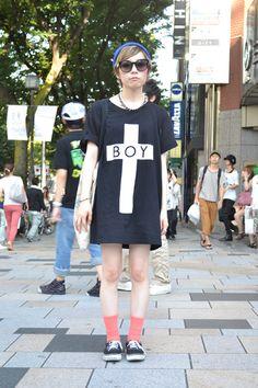 ノゾミ(学生)のストリートスナップ RID SNAP
