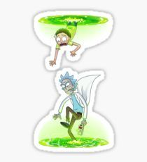 Rick and Morty (Portals) Pegatina