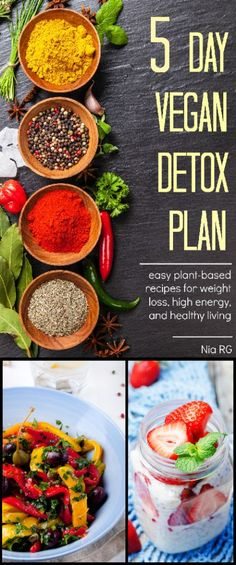 The 5 Day Vegan Detox Plan gives you the opportunity to reboot and recharge your…