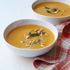 Butternut Squash and Carrot Soup  - Delish.com