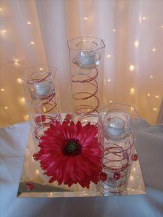 Daisy arrangement ideas submerged gerbera daisy centerpiece with gerber daisy centerpieces for weddings junglespirit Gallery