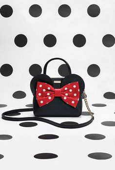 when in doubt, put a bow on it. the newest styles from the minnie mouse and kate spade new york collaboration are here!