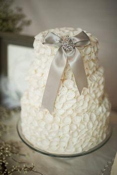 Mini Bolo de casamento decorado #Bolo #Festa  #Casamento #Sugestoes