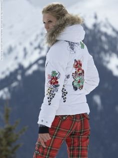 Toni Garrn for Gorsuch collection (Fall-Winter 2012) photo shoot Ski Pants 6bc090de8f6b
