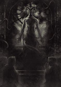 hell horror dark satan Macabre pope devil occult serpent succubus succubi rafael tavares