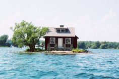 thousand islands, lake ontario, canada -It's on my bucket list to own my own island, maybe I can buy this one!