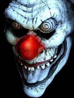 Maschera per vendetta mascheraq TESCHIO pantomima Pagliaccio Carnevale Halloween adulti