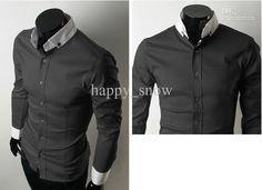 casual fashion for men 2013Wholesale Shirts   Buy 2013 Mens Clothing the Casual Shirt BU9QAwVO