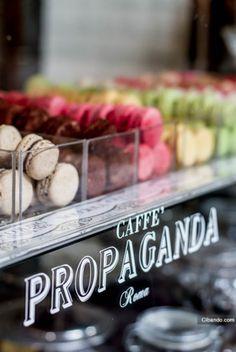 caffe-shakerato:  Caffé Propaganda in Rome