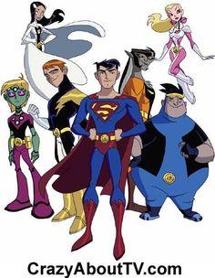 Legion of Super Heroes Cartoon Show Characters