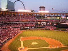 Yeah, yeah, yeah. St. Louis has a bright and spankin' new stadium. But the old Busch Stadium was even more iconic than the Cardinals franchise, baseball OR football.