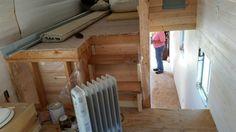 Split level Tiny House construction