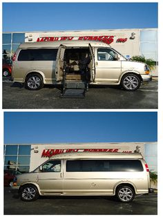 7aa4028323 Chevy Express van modification with side entry ramp. 2012 year. Model 2500  w