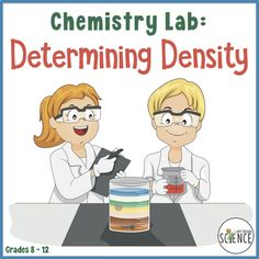 In this physical science or chemistry lab, students will use the relationship between mass and volume to determine the density of a variety of objects and liquids. Teaching Science, Life Science, Density Lab, Conservation Of Mass, Chemistry Labs, Middle School Science, Physical Science, Earth Science, Ruler