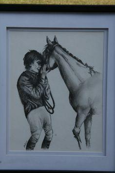 Horse art...by Sabine Hahn