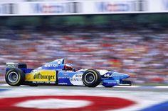 Michael Schumacher - Benetton B195 - Renault RS7 3.0 V10 . 1995 German Grand Prix, Hockenheimring