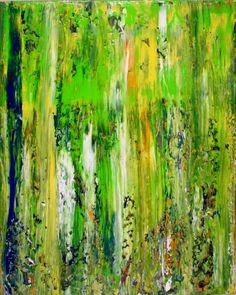 Abstract Terrain (Moss) by Nestor Toro, Painting - Acrylic | Zatista