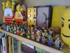 A crazy LEGO collection with some of the newer minifigures. #toys #lego #kids #collectibles