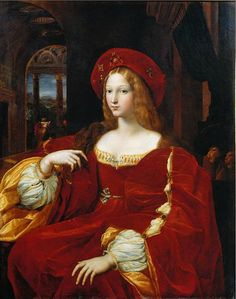 Raphael/ Guilio Romano. Portrait of Joanna of Aragon. 1518. oil on canvas. 120 x 95 cm. Musée du Louvre, Paris, France