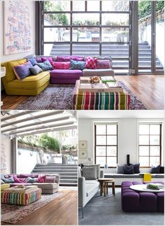 10 Awesome Ideas to Add Extra Seating to Your Living Room  http://www.amazinginteriordesign.com/10-awesome-ideas-add-extra-seating-living-room/