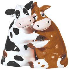 Westland Giftware Mwah! Ceramic Salt and Pepper Shaker, 3.5-Inch, Hugging Cows Westland Giftware http://www.amazon.com/dp/B00KB75M7S/ref=cm_sw_r_pi_dp_R5dYub0XS7GKG