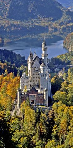 Château de Neuschwanstein, Bavière, Allemagne