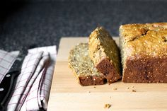 Crackly Banana Bread--with olive oil, millet and whole wheat flour