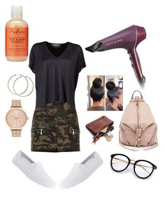 """""""Hair Salon Visit✨"""" by angeliqueamor on Polyvore featuring Remington, Keds, River Island, Acne Studios, Rebecca Minkoff, Nixon and SheaMoisture"""