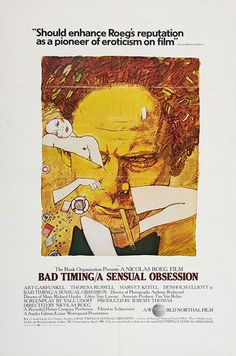 Nicolas Roeg film poster