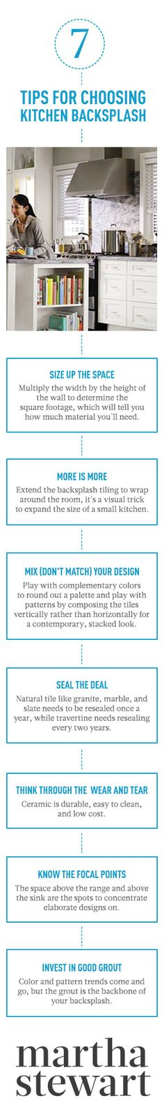 7 Tips for Choosing Kitchen Backsplash