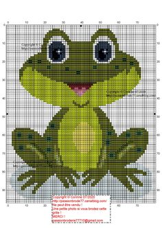 Kermit Sips Tea Needle Minder Cross Stitch Perfect Crafty Gift!