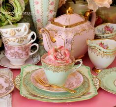 tea and roses.....