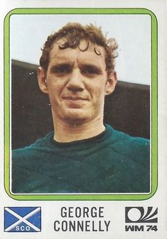 George Connelly - Scotland - München 74 World Cup 206 Football Stickers, Football Cards, Baseball Cards, Panini Sticker, 1974 World Cup, Laws Of The Game, Association Football, Celtic Fc, Most Popular Sports