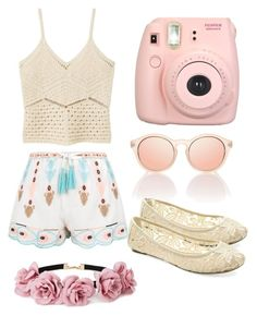 """Untitled #8"" by monkadoodles on Polyvore featuring New Look, MANGO, UNIONBAY, Fujifilm and Forever 21"