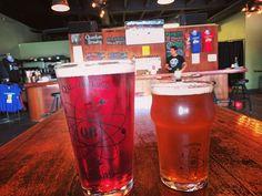 メモリアルデーで祝日なので、コンボイのQuantum Brewingで昼飲み〜😙ブルーベリー味の「Cyano Cream Ale」(左) ABV 4.99%と「Yellowcake imperial IPA」 ABV 9.2% ★  @quantum_brewing supports the troops on memorial day! $3 pints all day for active duty and veterans today, check them out! ★  #japanipa #クラフトビール #ビール大好き #地ビール #昼飲み #ブルワリー #サンディエゴ #sandiego #sandiegobeer #craftbeer #ipa #ジャパニパ #生ビール #beer #brewery #memorialdayweekend #ビールクズ #sandiego #sandiego #sandiegoconnection #sdlocals #sandiegolocals - posted by ジャパニパ japanipa…