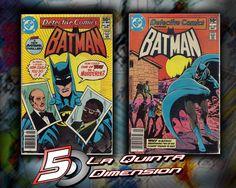 DETECTIVE COMICS # 501 Y 502 HISTORIA COMPLETA EN DOS PARTES, DE 1981. $ 120.00 https://www.facebook.com/La5aDimension