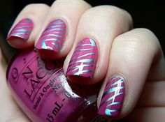 Ana Velazquez's Decalz: girly nails | Lockerz