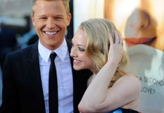Christopher Egan and Amanda Seyfried at event of Cartas a Julieta